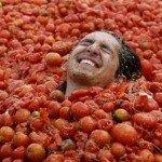 """""""La Tomatina"""" – bitwa na pomidory"""