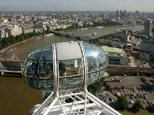 London Eye w Londynie TOP 12   Londyn: zabytki i atrakcje