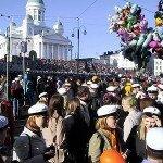 Vappu, czyli majówka w Helsinkach (30 kwietnia- 1 maja 2014)