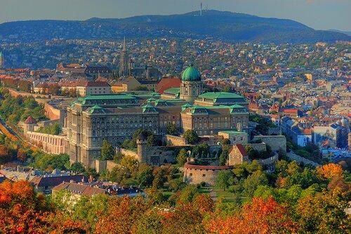 Zamek Królewski. Zabytki Budapesztu