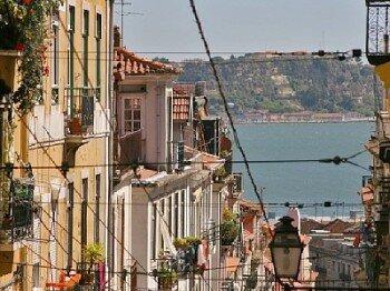 Lizbona. dzielnica Bairro Alto