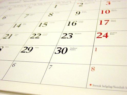 Linki: kalendarz ze świętami