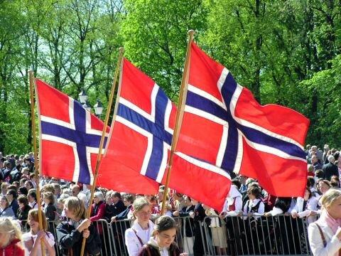 Norwegia w maju