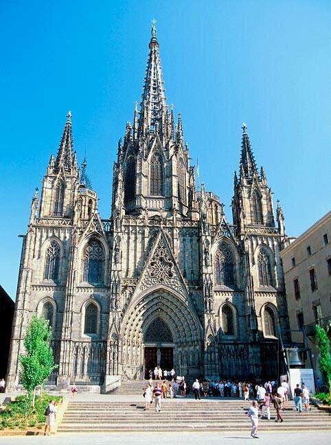 zabytki Barcelony:Katedra  La Seu