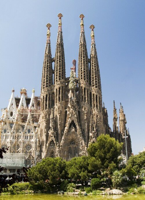 zabytki Barcelony: Sagrada Familia – Katedra