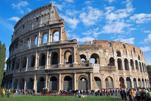 zabytki Rzymu:koloseum_w_rzymie