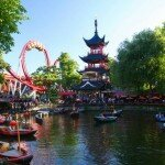 Dania: Park Tivoli w Kopenhadze