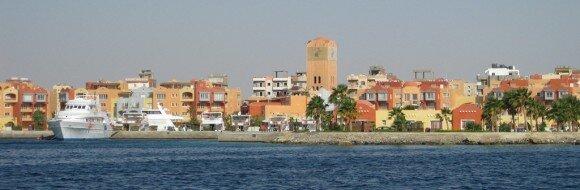 Hurghada w Egipcie