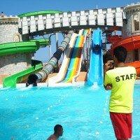 """Park wodny """"Aqualandia"""" w Benidorm w Hiszpanii"""