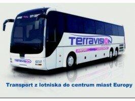autobusy w z lotniska: Malta, Szwecja, Wielka Brytania, Włochy, Hiszpania, Francja