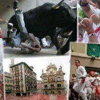 Hiszpania: gonitwa byków w Pampelunie (Pamplona) 6 – 14 lipca 2014