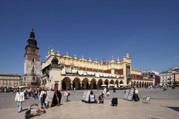 Kraków:Rynek Główny