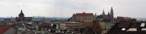 Kraków: panorama